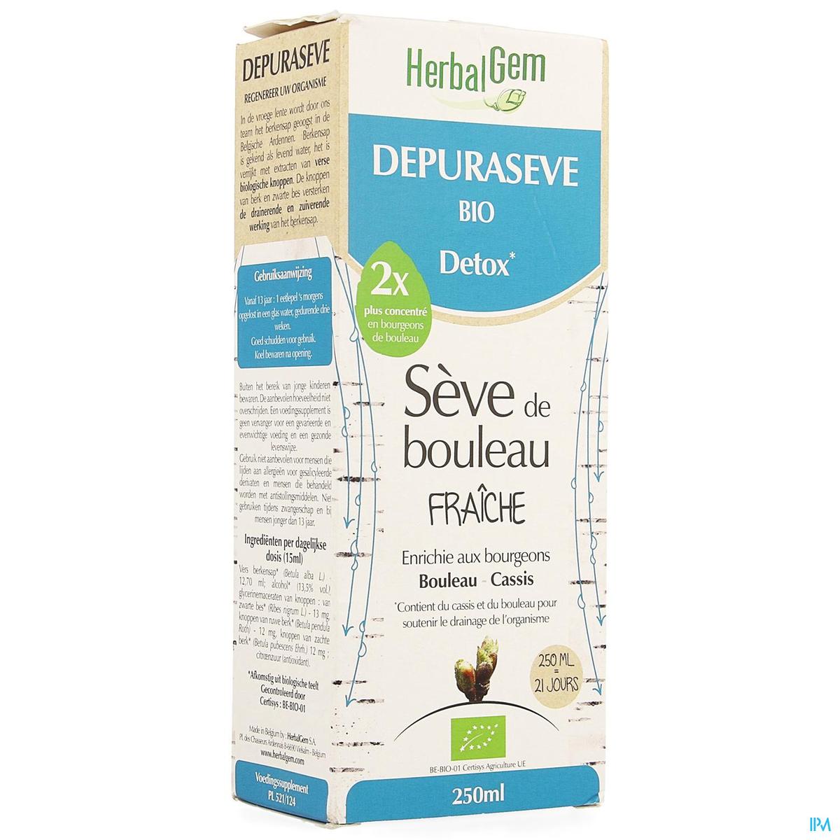 Herbalgem Depuraseve Bio Detox 250ml