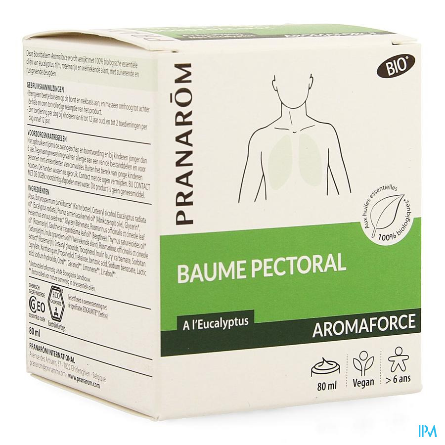 Aromaforce Bio Baume Pectoral Tube 80ml