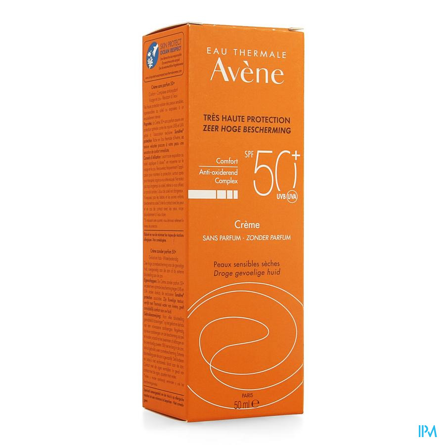 Avene Creme Solaire Ip50+ S/parfum 50ml