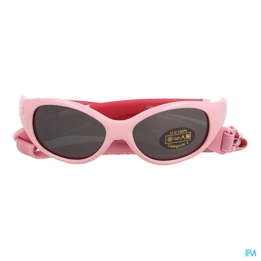 Babyssime Lunettes Soleil 0-12m Rose Horizane