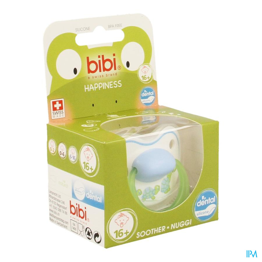 Bibi Sucette Dental Play With Us +16m