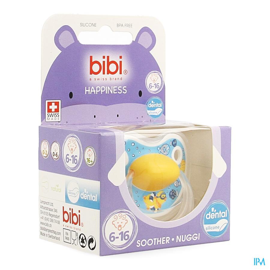 Bibi Sucette Hp Dental Birdy 6-16m