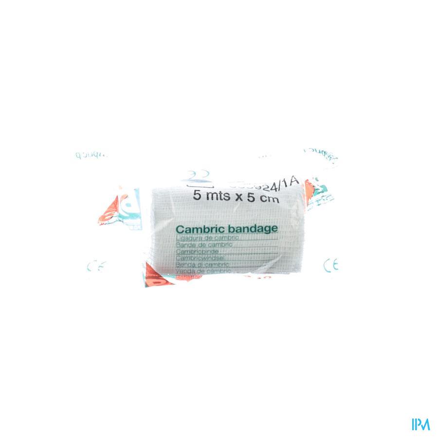 Cambric 408 5cmx5m Bandage Zeno