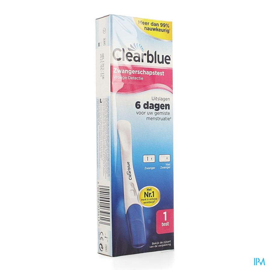 Clearblue Early Vision Stick Test Grossesse 1