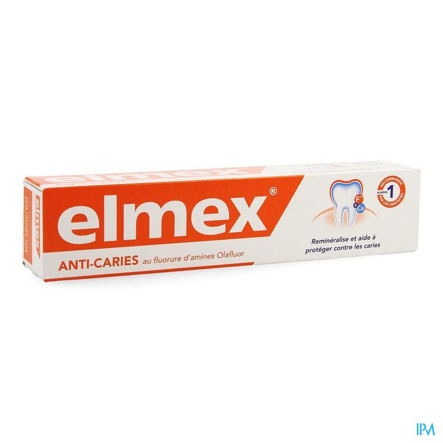 DENTIFRICE ELMEX® ANTI-CARIES TUBE 75ML