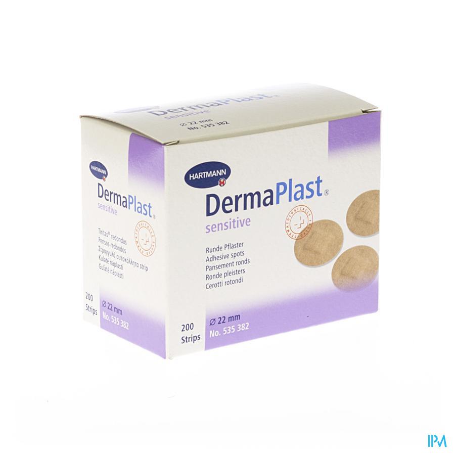 Dermaplast Sens.inj.22mm Spots1x200 P/s