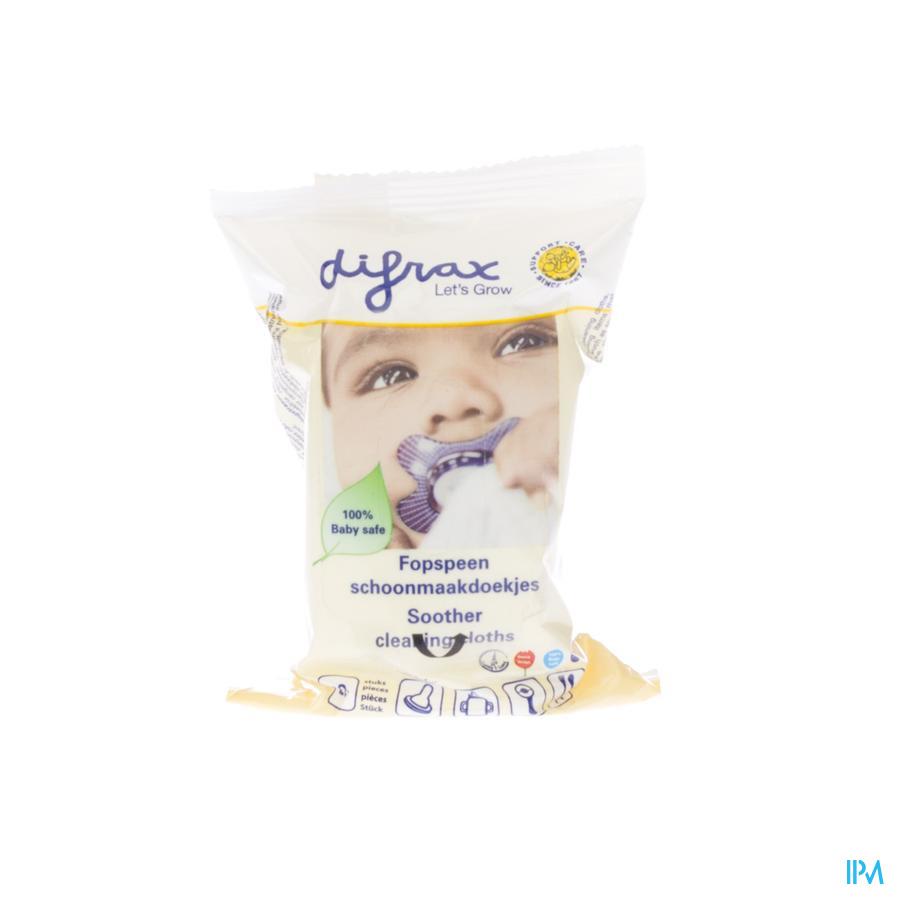 Difrax Lingettes Pour Sucette 20 459