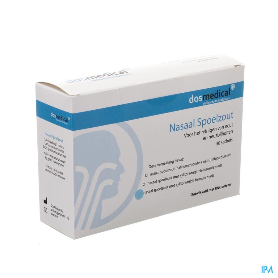 Dos Medical Sel Rincage Nasal+xylitol Sach 30x6,5g