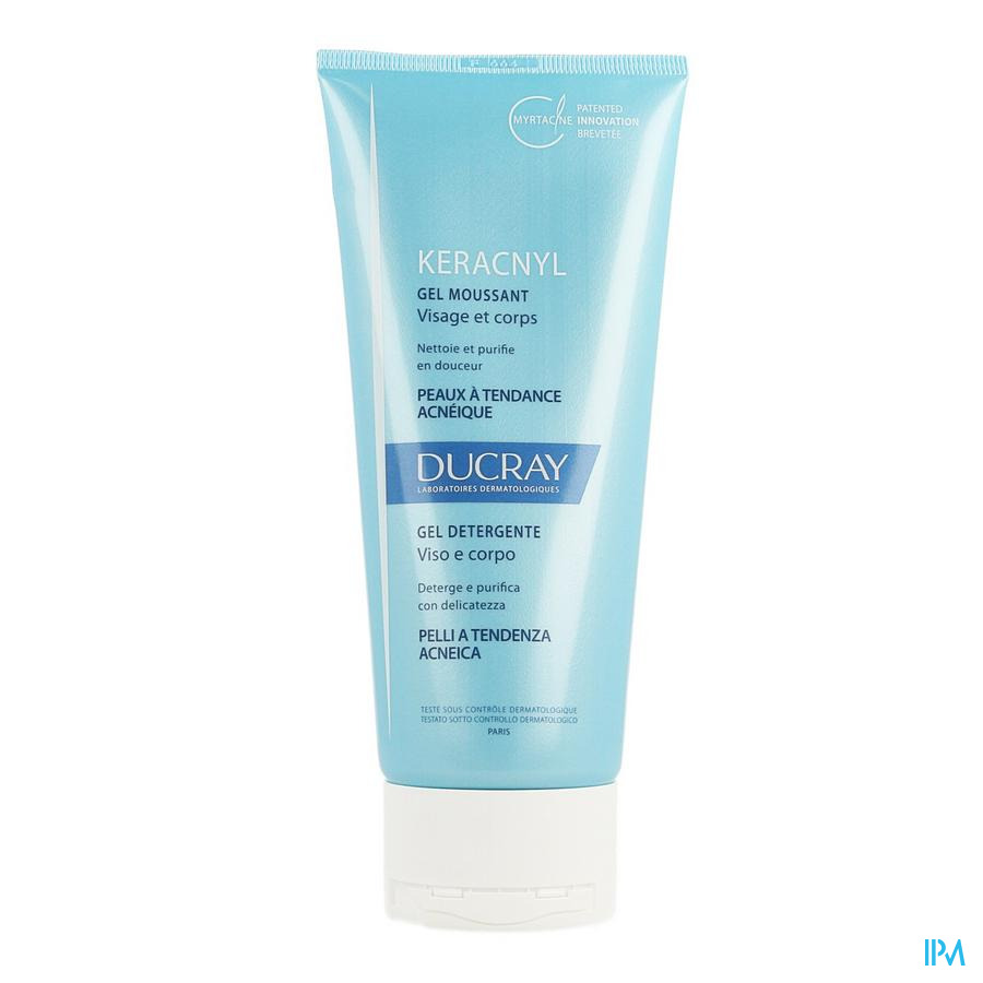 Ducray Keracnyl Gel Moussant Nf 200ml
