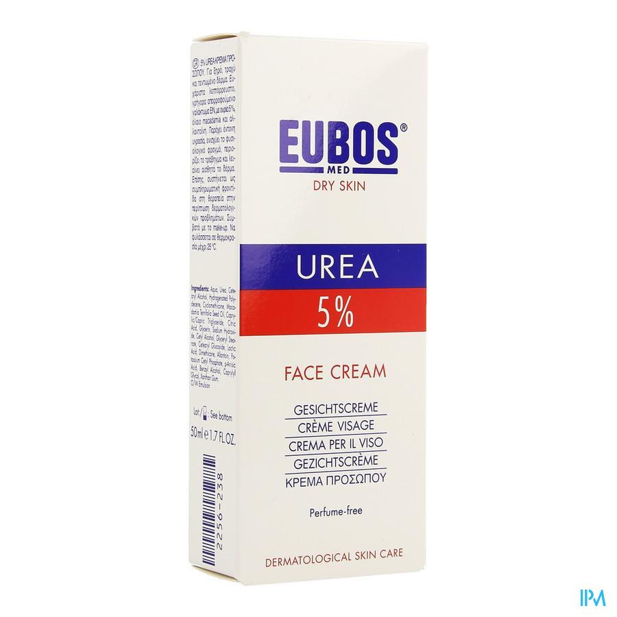 Eubos Urea 5% Creme Visage Tube 50ml