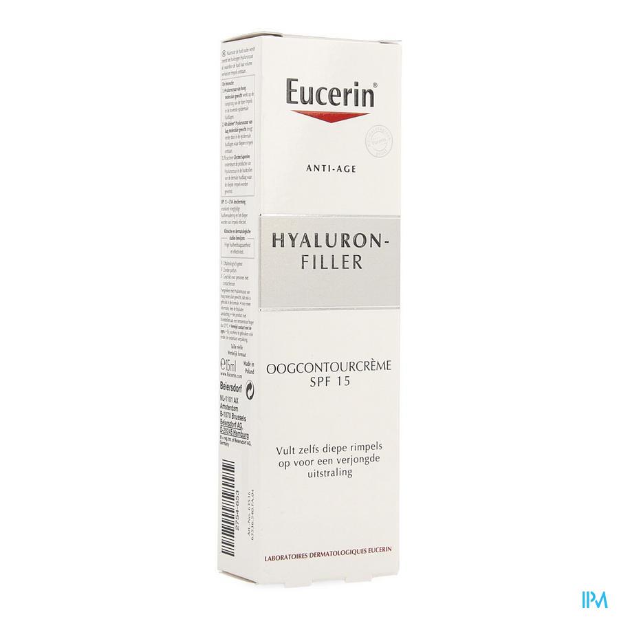 Eucerin Hyaluron Filler Creme Contour Yeux 15ml