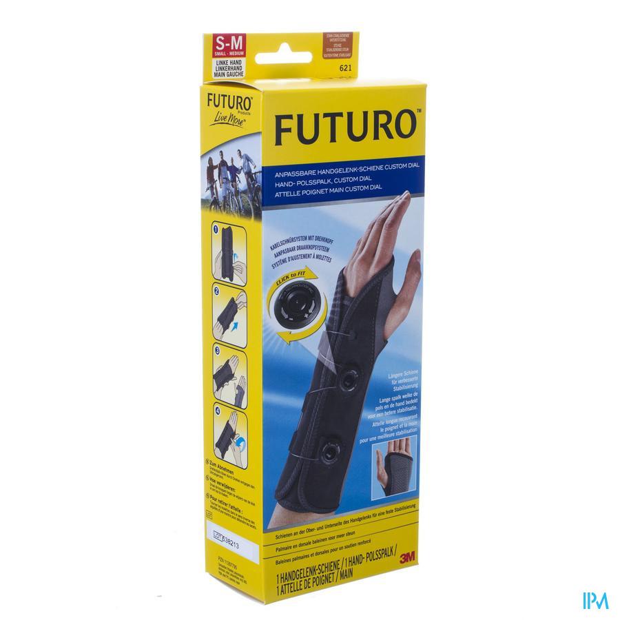 Futuro Attelle Poignet Custom Dial Gauche S/m 1