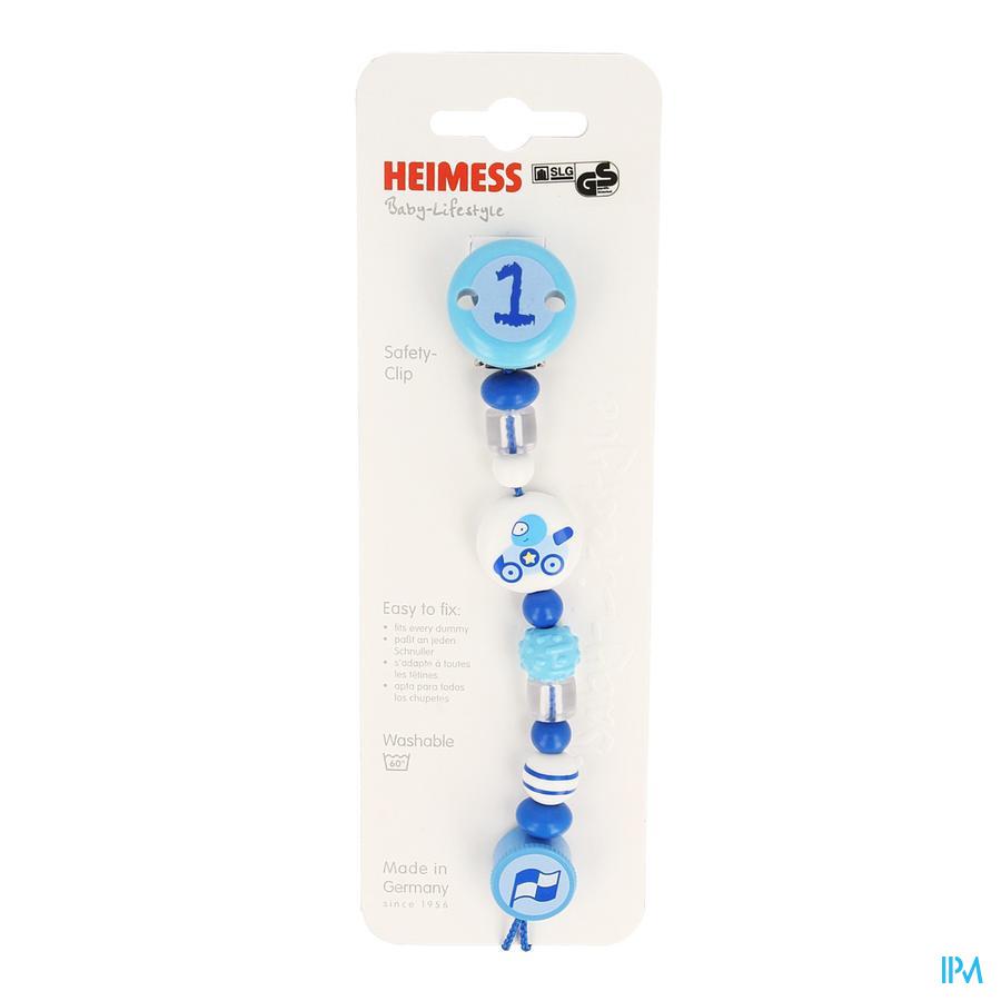 Heimess Attache Sucette Plastc Formule 1 H732530