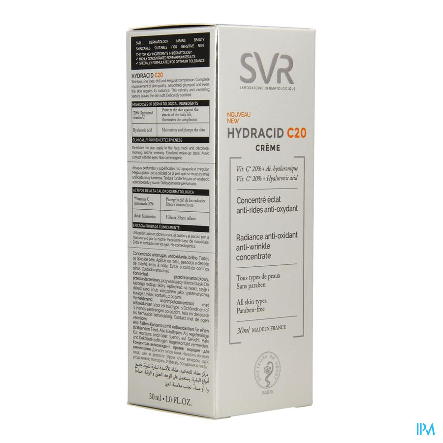 Hydracid C20 Svr Anti Rides Fl 30ml