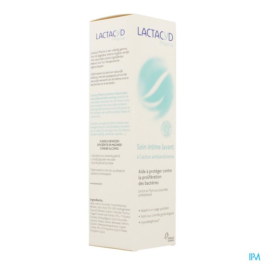 Lactacyd Pharma Antibacterial 250ml