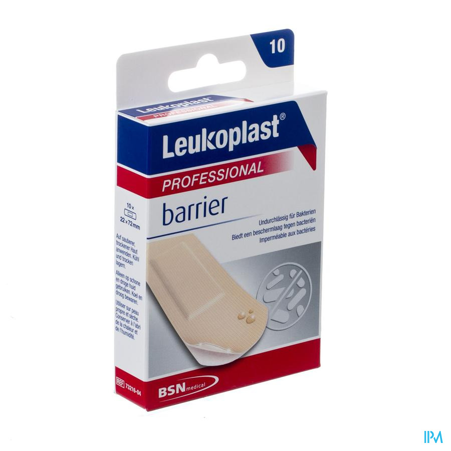 Leukoplast Barrier 22x72mm 10 7321604