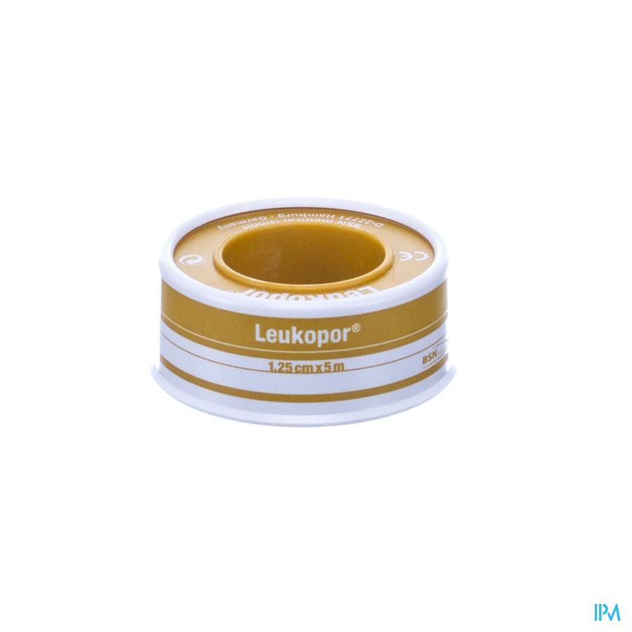 Leukopor Fourreau Sparadrap 1,25cmx5,0m 1 0247100