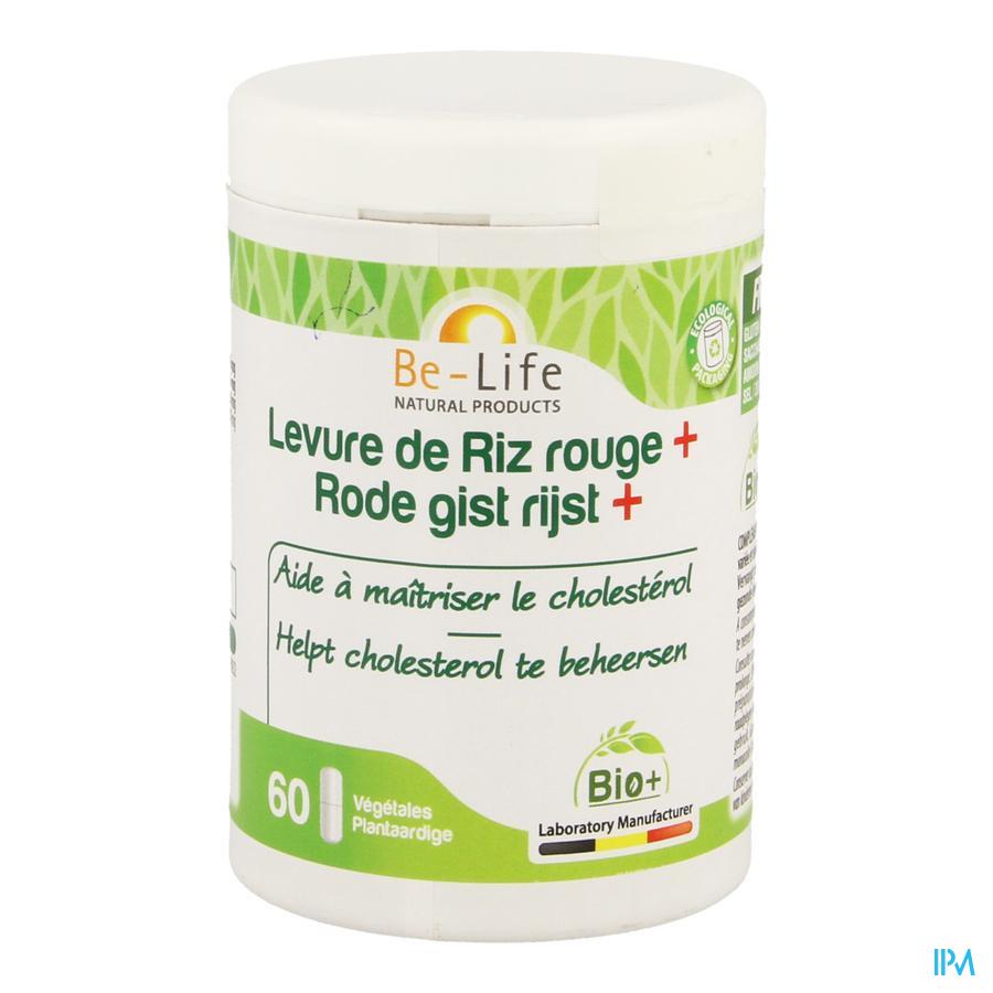 Levure Riz Rouge Bio Be Life Caps 60