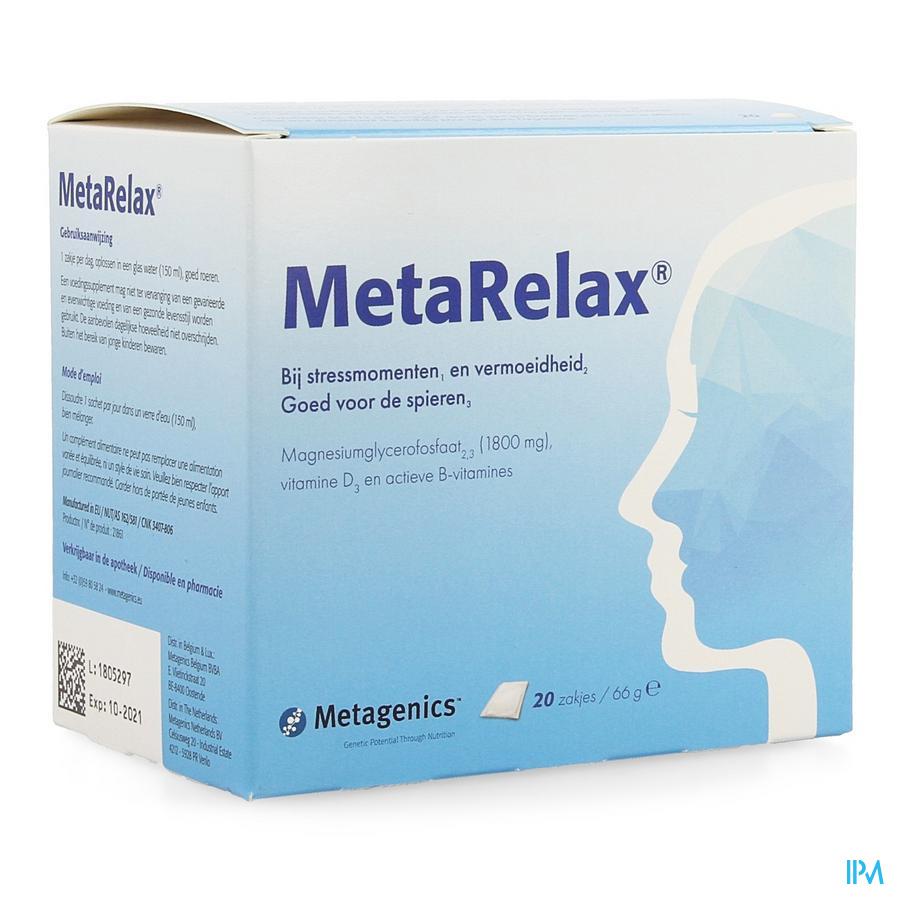 Metarelax Nf Sachet 20 21861 Metagenics