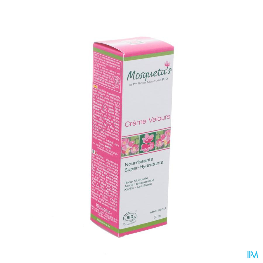 Mosquetas Rose Cr Huile De Rose Velours Hydra 50ml