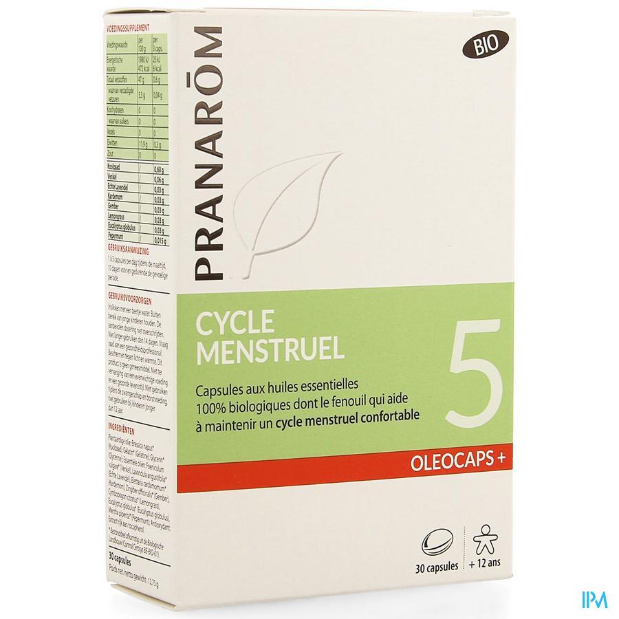 Oleocaps+ Bio 5 Menstruation Caps 30
