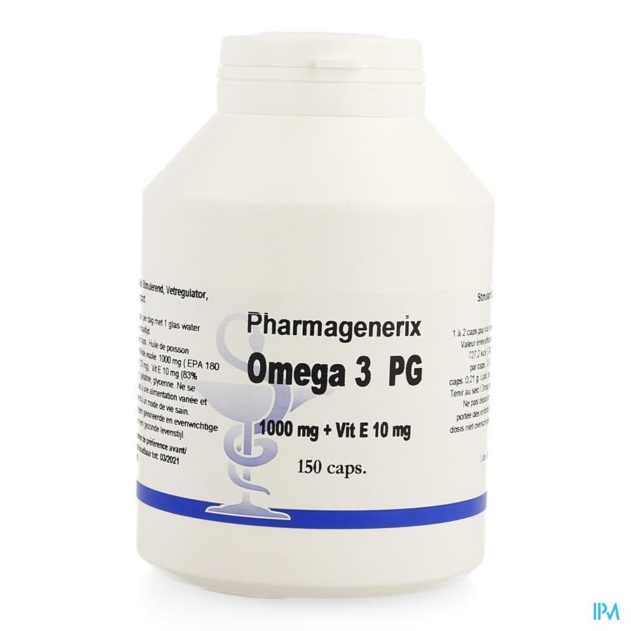 Omega 3 Pg Pharmagenerix Caps 150