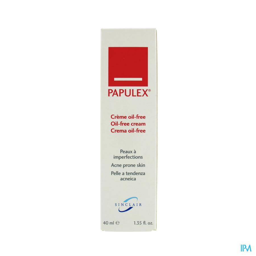 Papulex Creme Oil Free P Acne Tb 40ml Rempl2356954