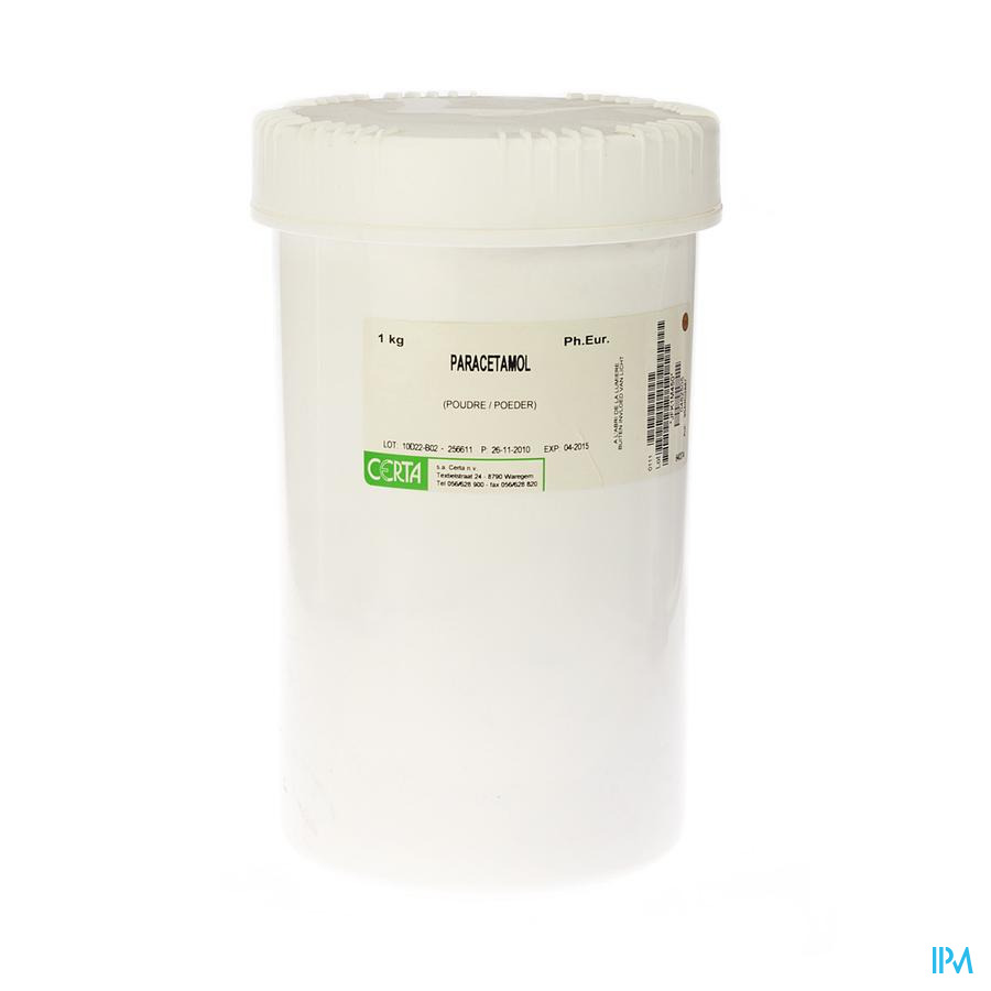 Paracetamol Ph.eur Pdr 1kg Aca