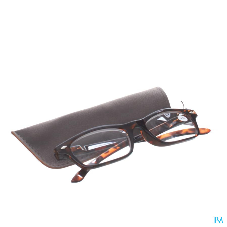 Pharmaglasses Lunettes Lecture Diop.+4.00 Brown