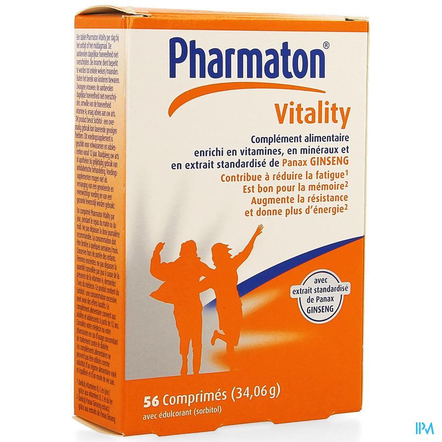 Pharmaton Vitality Comp 56