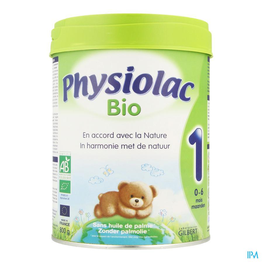 Physiolac Bio 1 Lait Pdr 800g