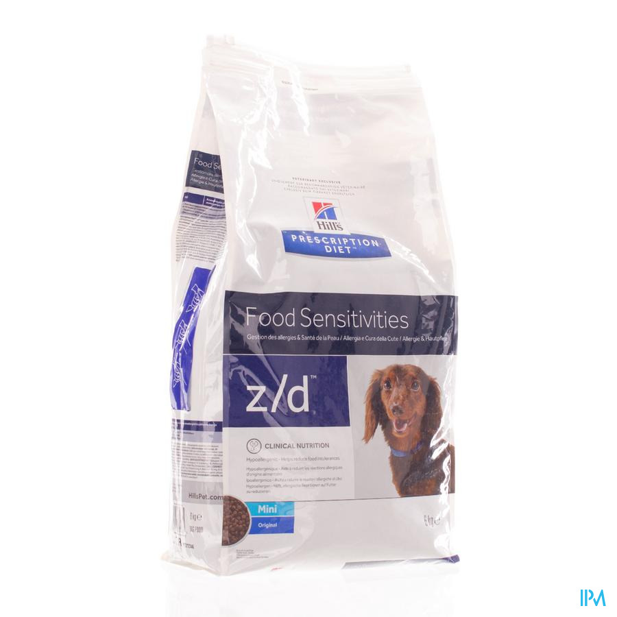 Prescription Diet Canine Z/d Mini 6kg