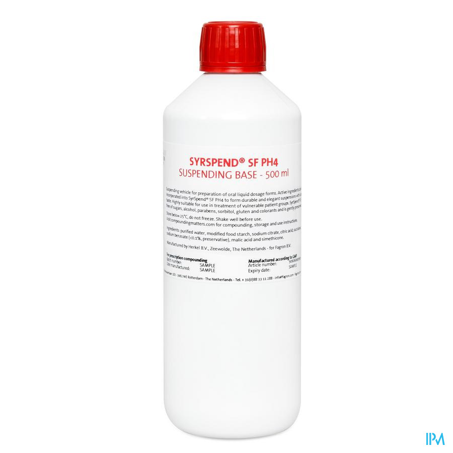 Syrspend Sf Ph4 Unflavoured 473ml Fag