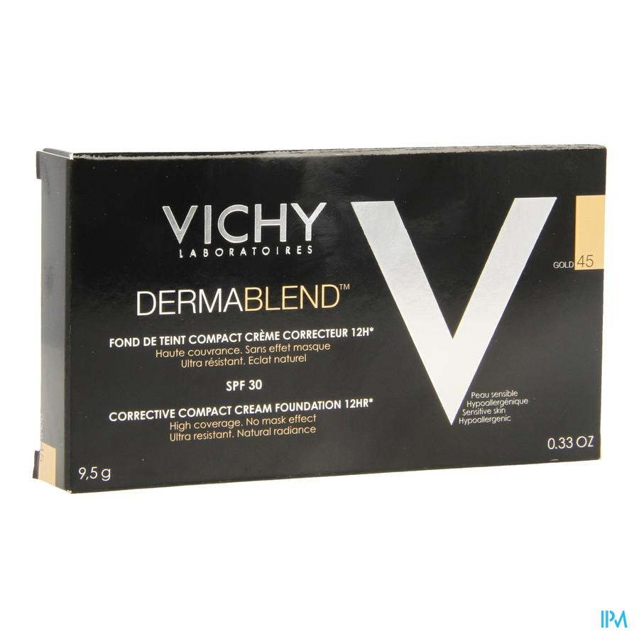 Vichy Fdt Dermablend Compact Creme 45 10g